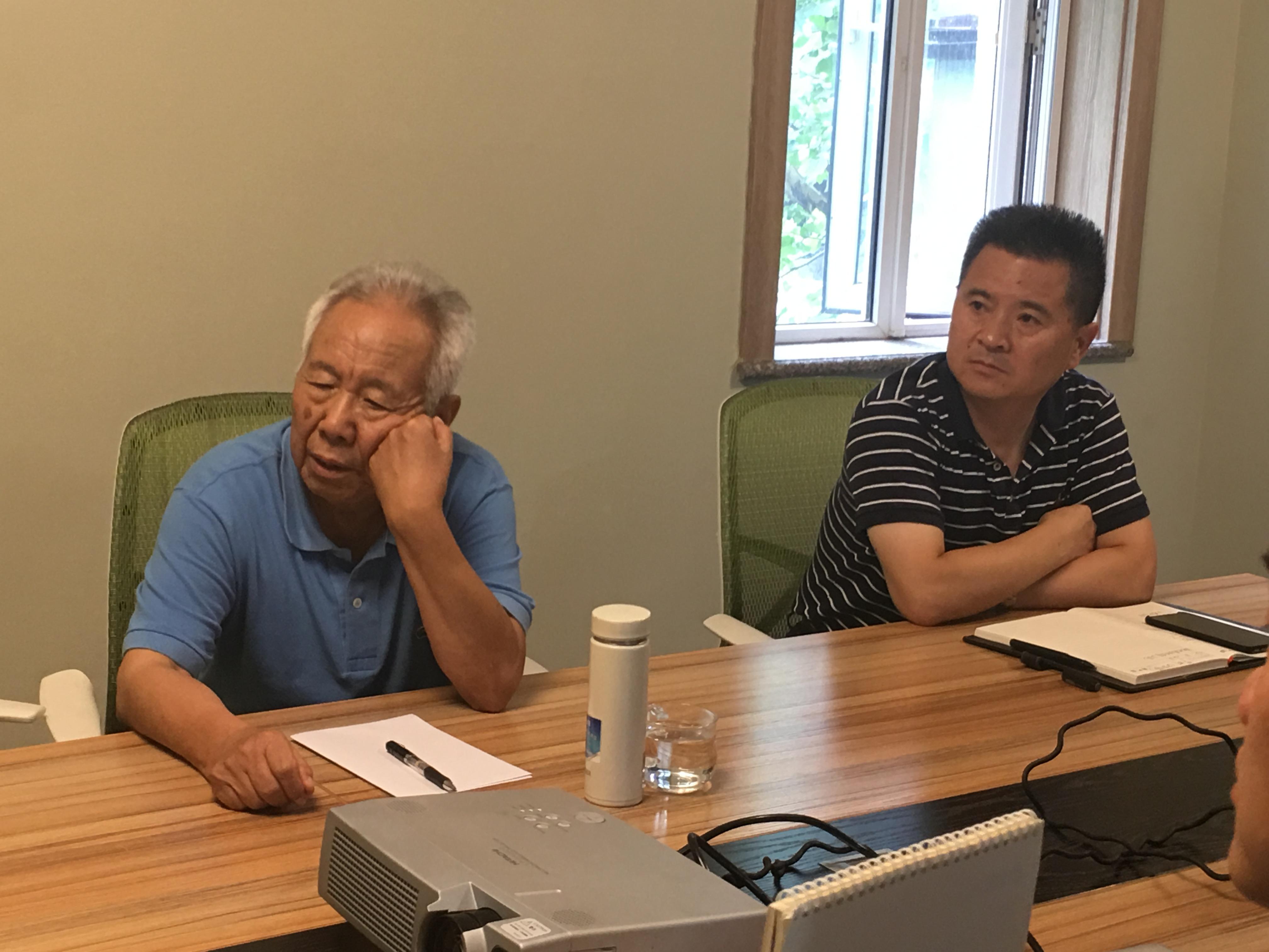 """潘玉琦教授现场指导""""北京模拟试验中心建设"""""""